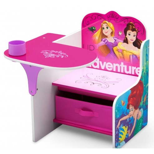 Scaun multifunctional din lemn Disney Princess Up For Adventure