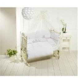 Lenjerie de pat Feretti Duetto -Vintage Flowers White