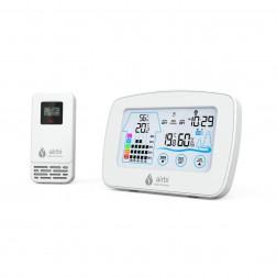 Termometru si higrometru digital cu transmitator wireless extern Airbi CONTROL