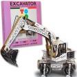 Joc creativ 3D Excavator