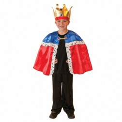Costum Carnaval Copii Rege Marime Universala