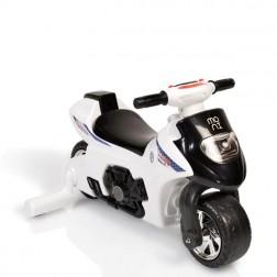 Motocicleta de impins Balance Motor First Step 617 Alb