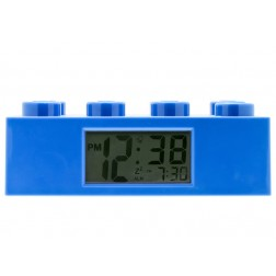 Ceas desteptator LEGO caramida albastra (9002151)