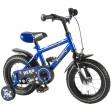 Bicicleta pentru baieti Yipeeh Hero  12 inch, cu roti ajutatoare, Kanzone