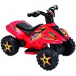 QUAD rosu cu pedala acceleratie pentru copii