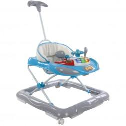 Premergator cu control parental Super Car Albastru cu Gri Sun Baby