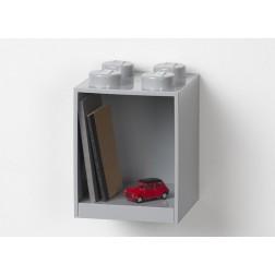 Raft Caramida LEGO 2x2 - Gri