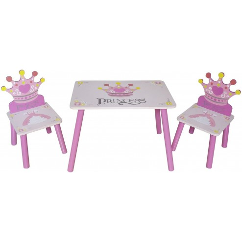Set masuta si 2 scaunele Princess