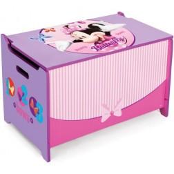 Ladita din lemn pentru depozitare jucarii Disney Minnie Mouse