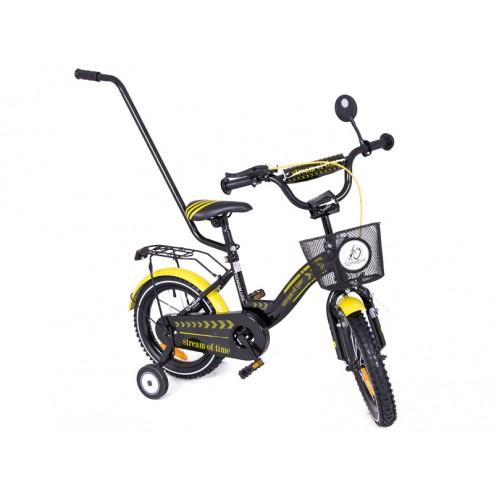 Bicicleta copii MyKids Toma Exclusive 1405 Yellow