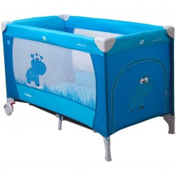 Patut pliabil Samba Albastru Coto Baby