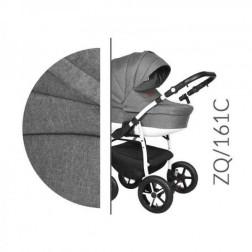 Carucior 3 in 1 cu Cadru Alb Baby Merc Zippy Q - ZQ161C