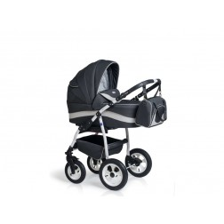 Carucior copii 3 in 1 MyKids Germany Gri Inchis