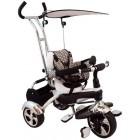 Tricicleta multifunctionala Happy Days - alb