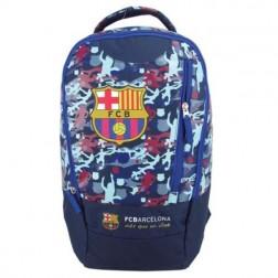 Ghiozdan Gimnaziu Barcelona Bleau si minge cadou
