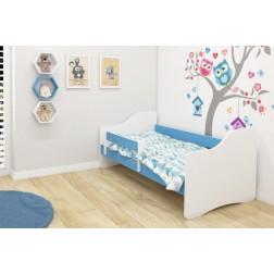 MyKids Patut Tineret Happy III  White-Blue - 140x70