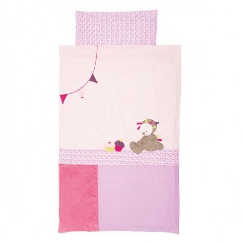 Lenjerie de pat pentru copii Ariciul Manon 140 x 100 cm