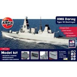 Airfix HMS Daring Type 45 Distrugator 1:350