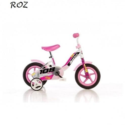 Bicicleta 108 FL cu maner pentru parinti - Dino Bikes