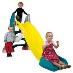 Tobogan din plastic cu sistem de apa Elefant pentru copii - Paradiso Toys