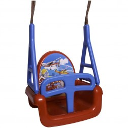 Leagan Multifunctional 3 in 1 - Tega Baby - Cars Rosu
