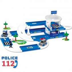 Garaj pentru politie 3D Kid Cars 3,8m - Wader