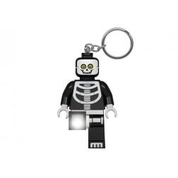 Breloc cu lanterna LEGO Classic Schelet (LGL-KE137)