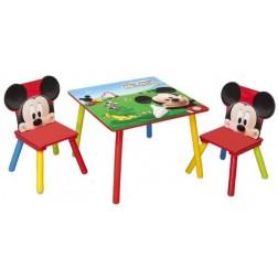 Set masuta si 2 scaunele Disney Mickey Mouse