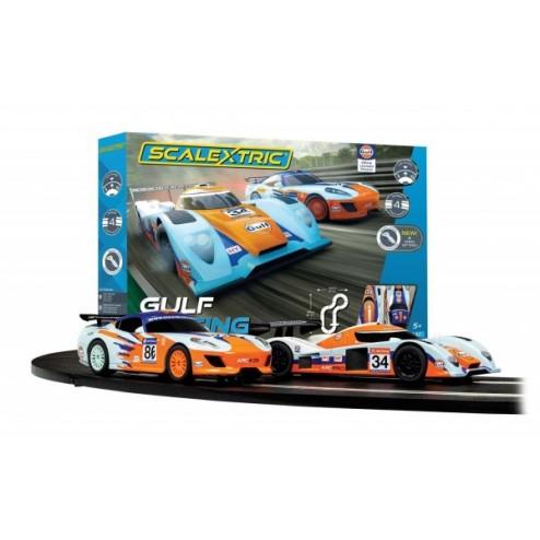 Pista masinute Gulf Racing - traseu masinute Gulf LMP vs GT Gulf