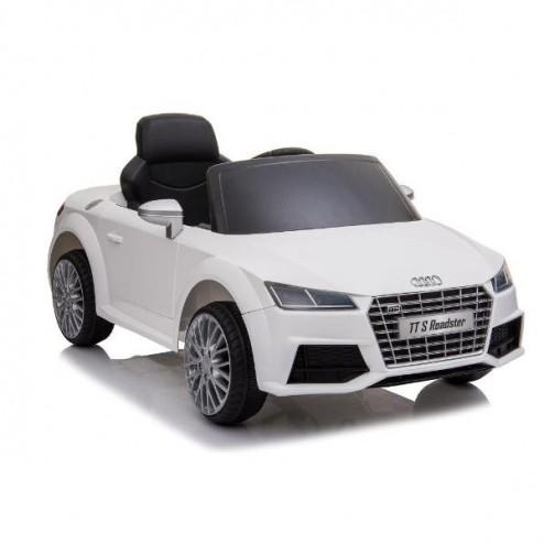 Masina electrica Audi TTS Roadster_alb