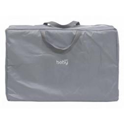 Saltea pentru joaca cu geanta de transport Just Baby Gri