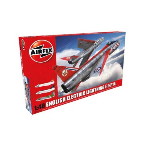 Airfix English Lightning F1/F1A/F2/F3