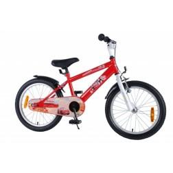 Bicicleta baieti Cars 18 inch partial montata - Volare