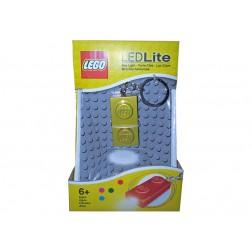 Breloc cu lanterna LEGO placa aurie (LGL-KE52GS-G)