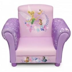 Fotoliu cu cadru din lemn Disney Fairies