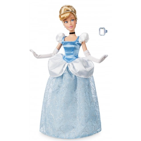 Papusa Printesa Disney Cenusareasa cu inel