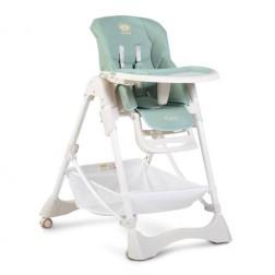 Scaun de masa pentru copii Cangaroo Chocolate Light Blue