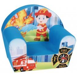Fotoliu din burete pentru copii Fireman Trade