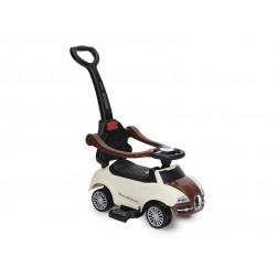 Masinuta De Impins Copii Moni Rider 2 In 1 Beige