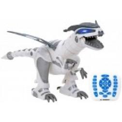 Robot de jucarie Dinozaur cu telecomanda Globo Wtoy 39488 pentru copii programabil cu functie lupta si incarcare USB