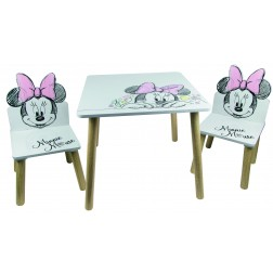 Set masuta si 2 scaunele Minnie Mouse - Global
