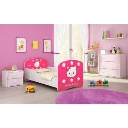 MyKids Patut Tineret I Sweet Kitty - 140x70