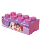 Cutie depozitare LEGO Friends 2x4 roz