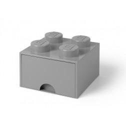 Cutie depozitare LEGO 2x2 cu sertar, gri (40051740)