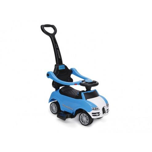 Masinuta De Impins Copii Moni Rider 2 In 1 Albastru
