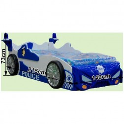 Patut in forma de masina Police - Plastiko