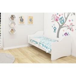 MyKids Patut Tineret Happy III  White-White - 140x70