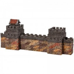 Kit constructie caramizi Wise Elk Marele Zid Chinezesc 1530 piese reutilizabile