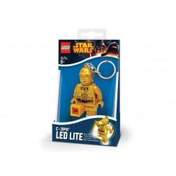 Breloc cu lanterna LEGO C-3PO  (LGL-KE18)