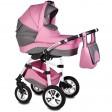 Carucior Flamingo Easy Drive 3 in 1 roz - Vessanti